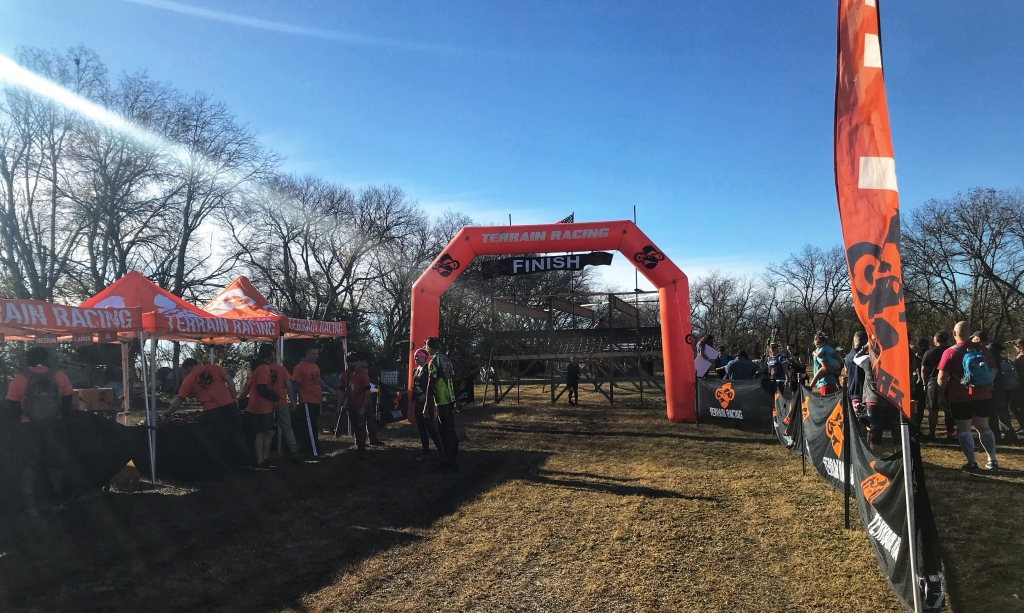 Terrain Race Finish Line