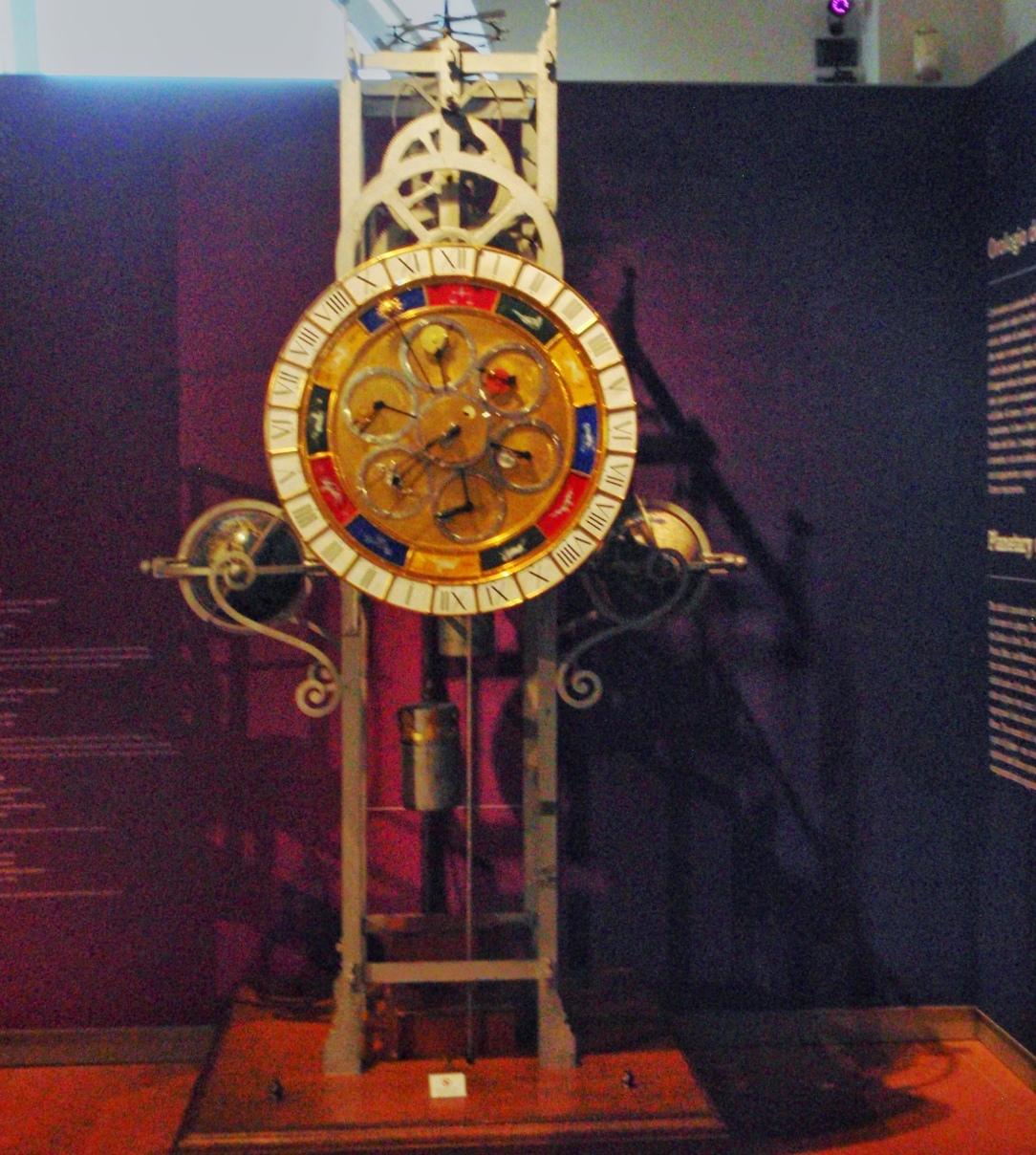 Planetary clock by Lorenzo della Volpaia